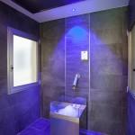Cascata del ghiaccio (per le sue caratteristiche è la reazione fredda che più si abbina al bagno di calore della sauna finlandese o del bagno di vapore.)