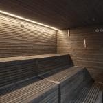 Sauna Glamour (temperatura 80°-100° con umidità relativa 10%-20%)
